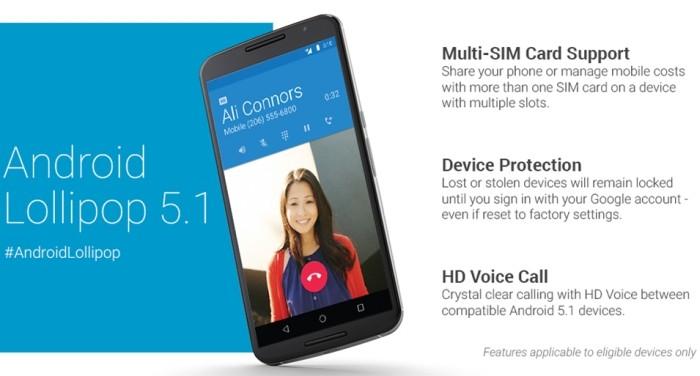 Android 5.1 - principais características