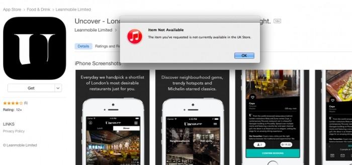 App Store - instável