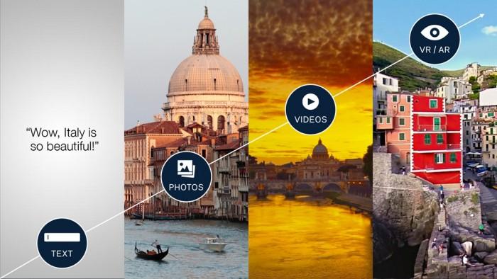 Facebook - vídeos em 360 graus