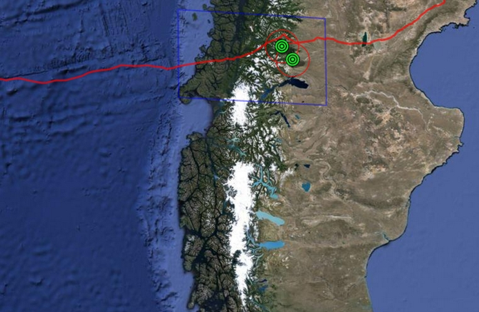Project Loon em Coihaque, Chile