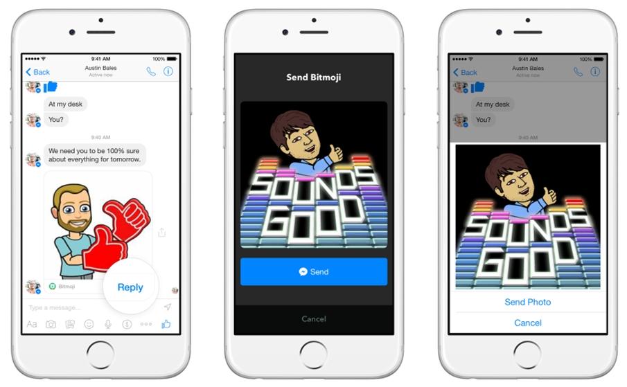 Facebook Messenger terá suporte a apps de terceiros e canais de comunicação com empresas - Tecnoblog