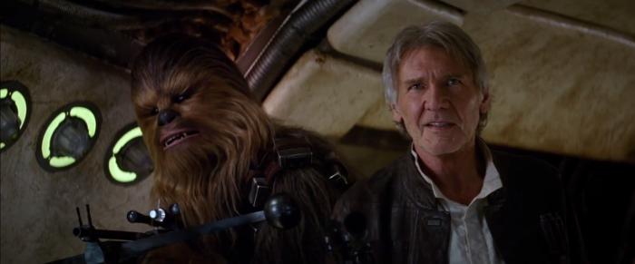 Chewie, estamos em casa!