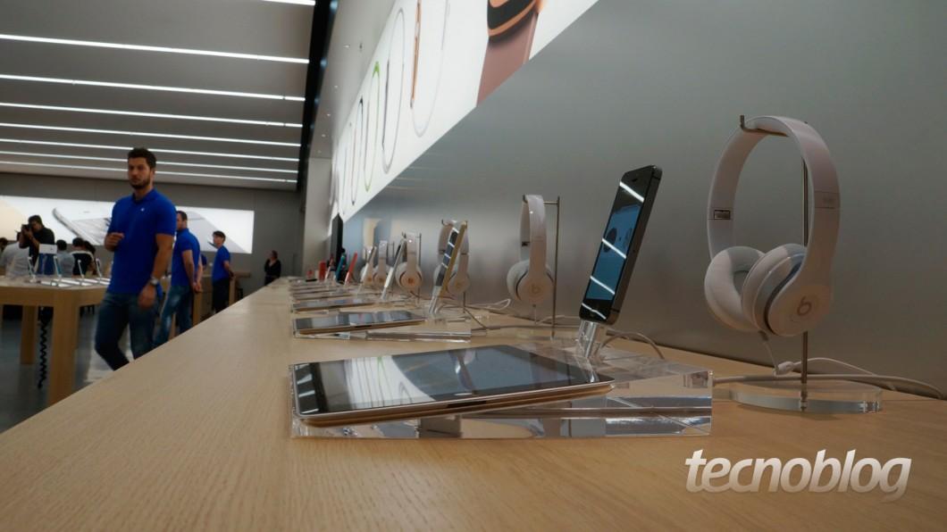 Consumidores também poderão testar acessórios (Foto: Thássius Veloso)