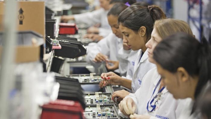 Fábrica da Foxconn em Jundiaí (Créditos: Fabiano Accorsi/VEJA)
