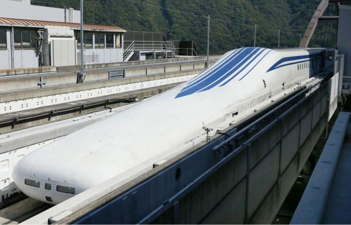 Trem-bala japonês bate recorde de velocidade: 590 km/h – Tecnoblog