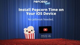 Popcorn Time já pode ser instalado no iOS sem jailbreak –