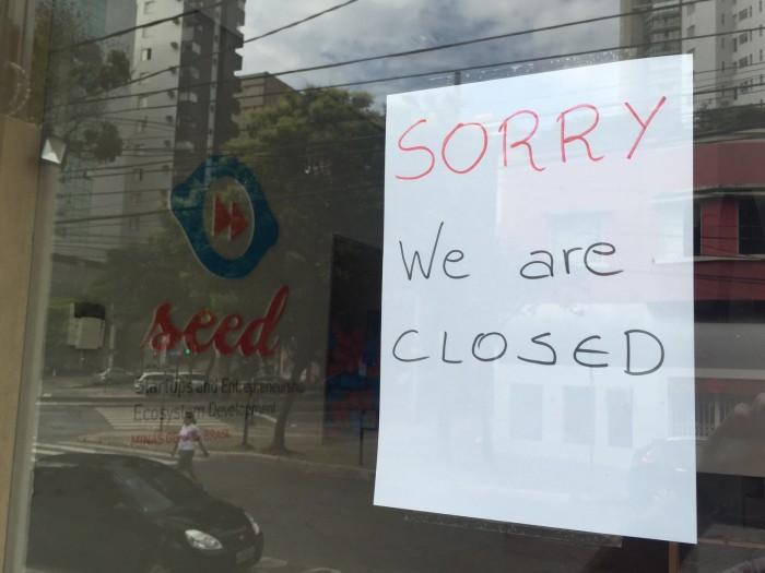 Desculpe, estamos fechados (Foto: Christophe Chavey)