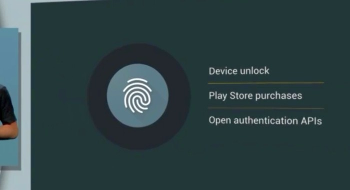 Android M - impressões digitais