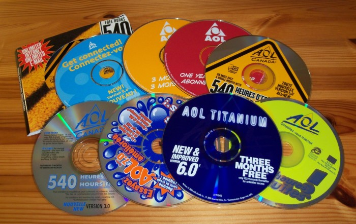 AOL - CDs