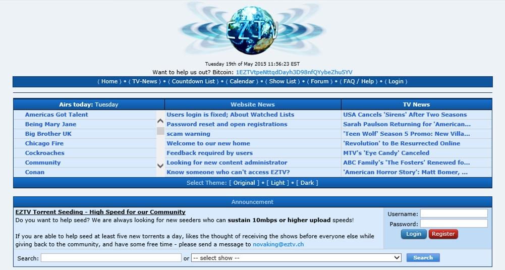 É o fim do site de torrents EZTV –