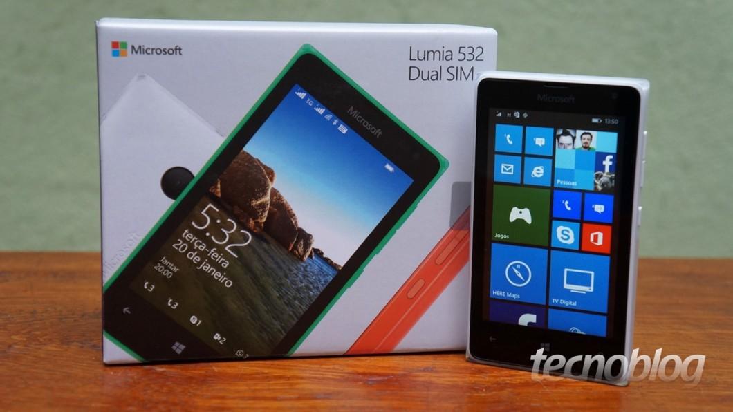 14bbf047326 Lumia 532, mais uma opção de baixo custo da Microsoft (mais 4 ...