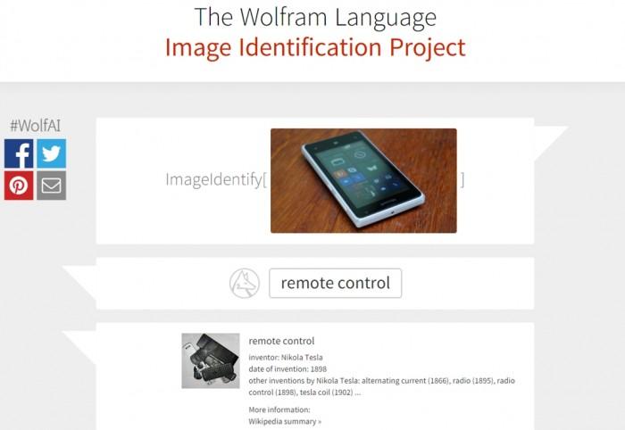Wolfram Language Image Identification Project