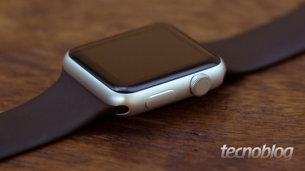 Botões do Apple Watch (Foto: Lucas Braga)