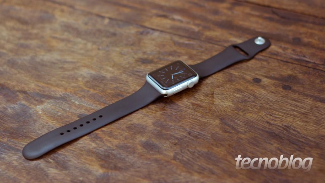 Primeira geração do Apple Watch entra para a lista de produtos clássicos (vintage) (Imagem: Tecnoblog)