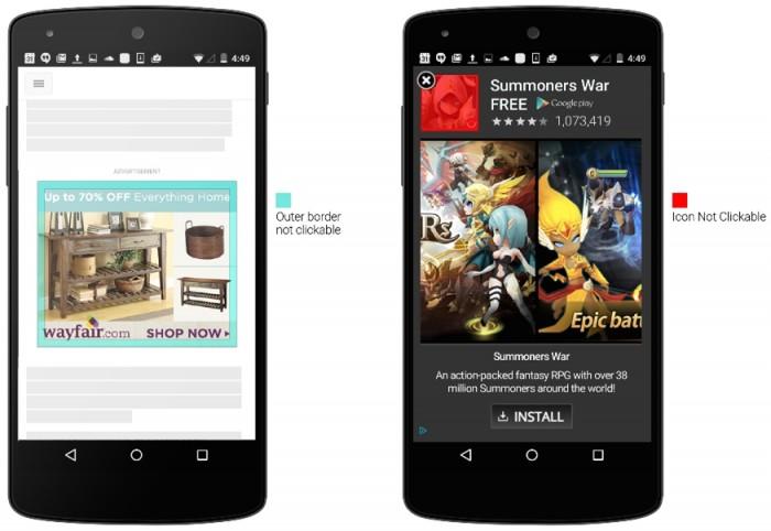 Google - anúncios móveis