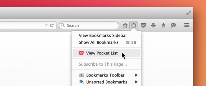 Pocket no Firefox