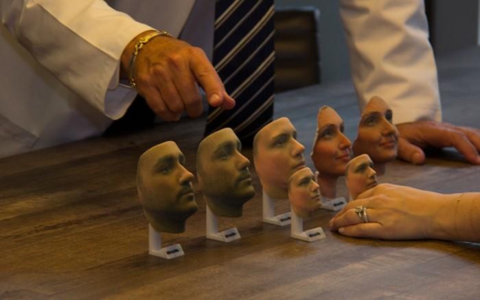 Rosto - impressora 3D
