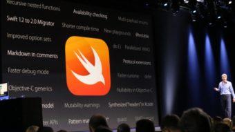 Swift, linguagem de programação da Apple, chega ao Windows 10