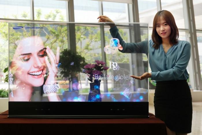 TV transparente - Samsung