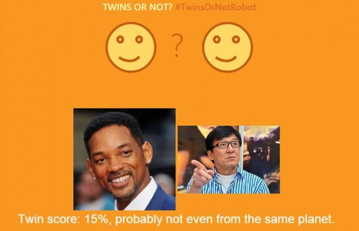 Will Smith e Jackie Chan: 15% de semelhança