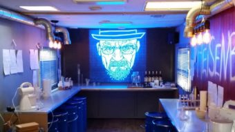 Bar em Londres se inspira em Breaking Bad