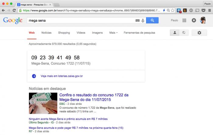 Google - Mega Sena