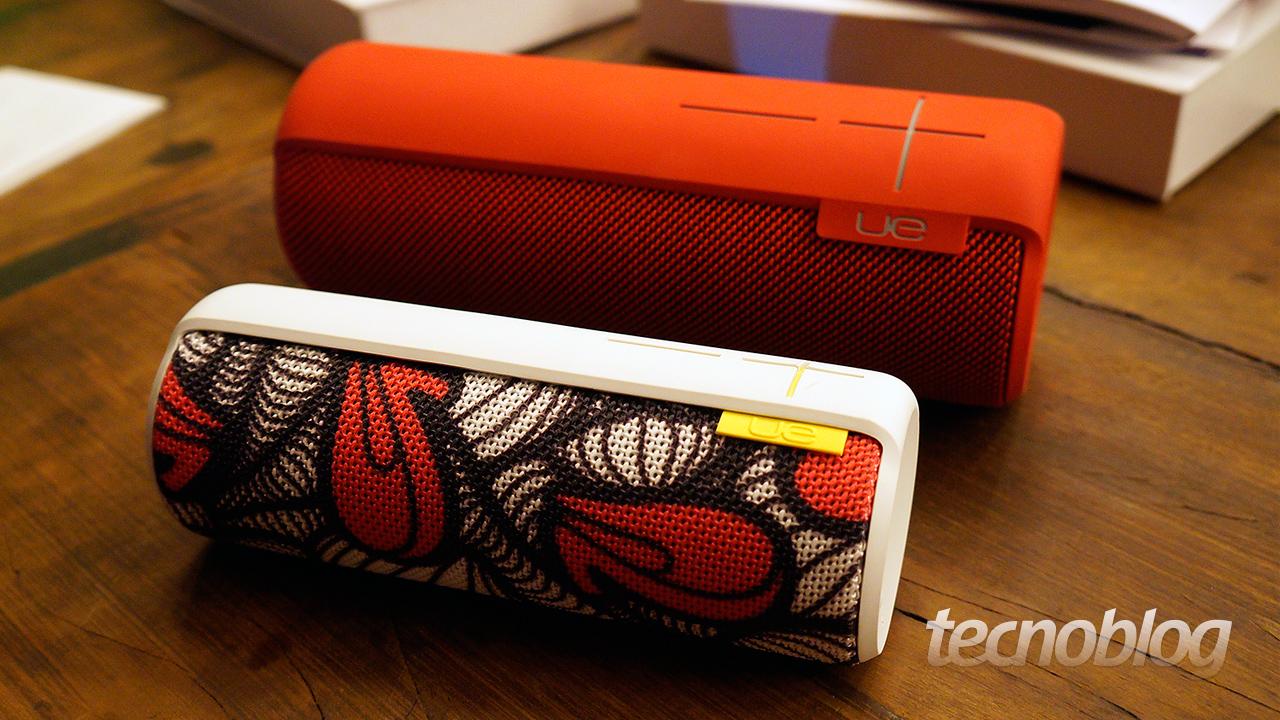 Ultimate Ears chega ao Brasil com caixas de som Bluetooth
