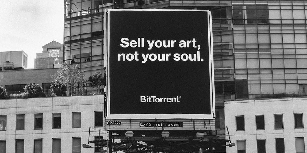 """""""Venda a sua arte, não a sua alma"""""""