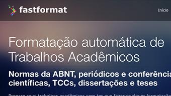 FastFormat padroniza trabalhos acadêmicos nas normas ABNT