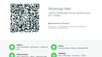 WhatsApp Web: como escanear o código QR no celular