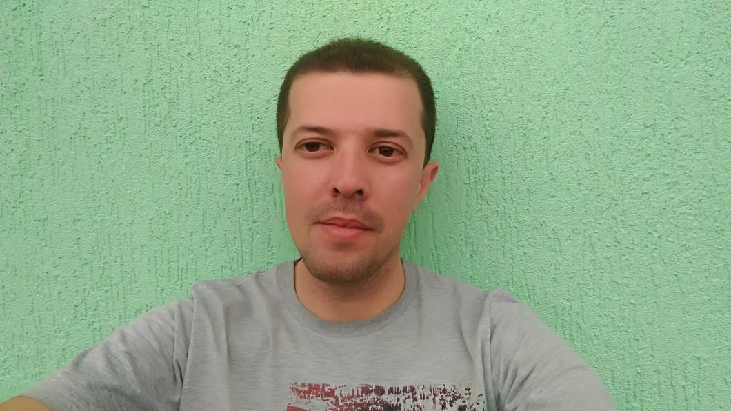 Foto com a câmera frontal do Zenfone Selfie
