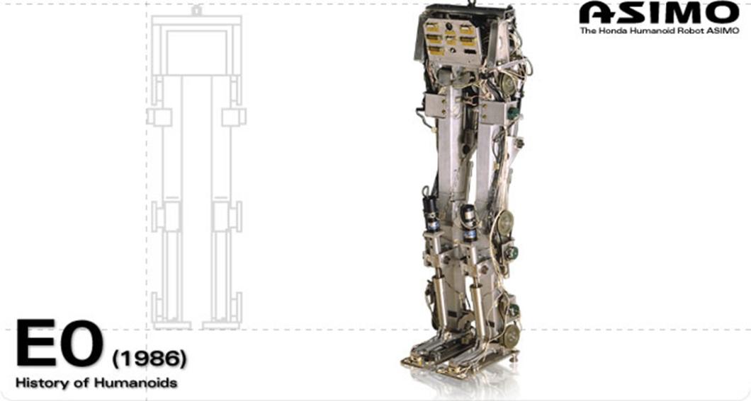 Honda E0, o robô que só tinha pernas e era capaz de dar um passo a cada 5 segundos