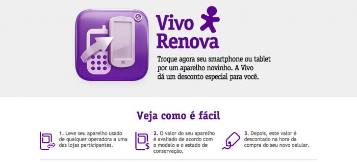 O Vivo Renova é uma das opções para não gastar todo o seu dinheiro em um novo smartphone.