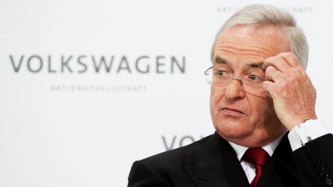 Martin Winterkorn, CEO da Volkswagen
