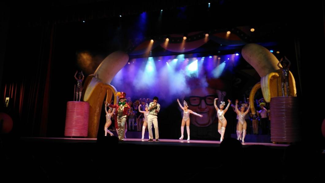 Show/teatro (foto realizada com autorização prévia do evento)