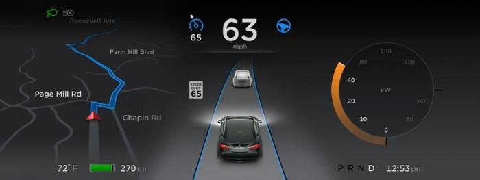 Piloto automático da Tesla