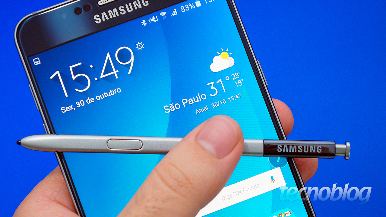 Review Galaxy Note 5: o sofisticado de tela grande [análise/vídeo] - Tecnoblog