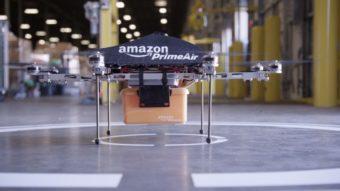 Amazon recebe autorização para entrega por drone via Prime Air