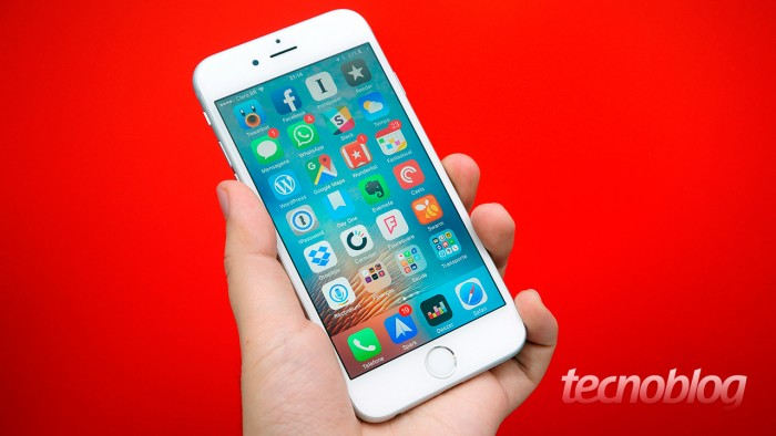 iPhone 6s is an example of a small iPhone today