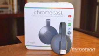 O que você pode fazer com o seu Chromecast?