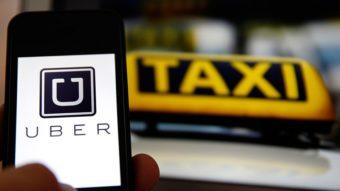 Como pedir táxi no Uber