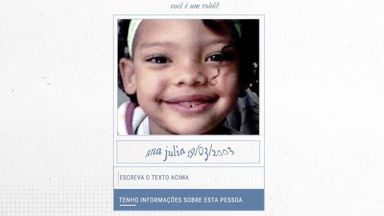 Este captcha ajuda a encontrar pessoas desaparecidas - Tecnoblog