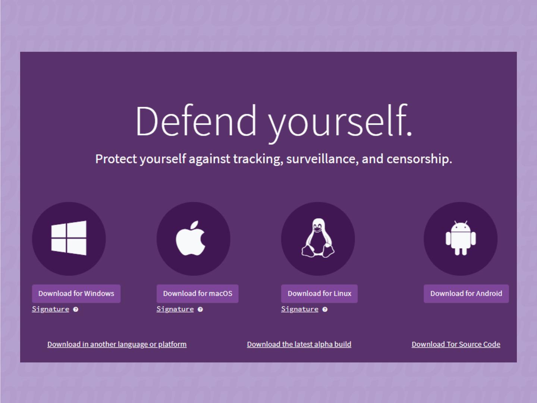 Fazendo o download do navegador Tor