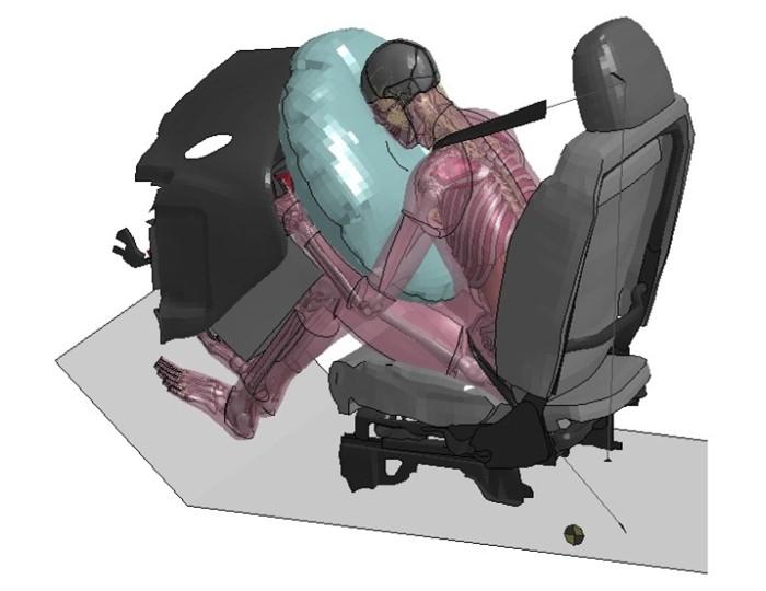 Simulador de crash test