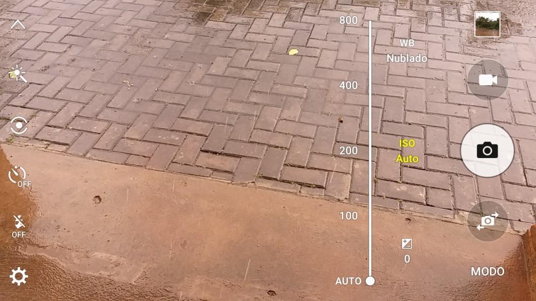 Software de câmera do Galaxy On7