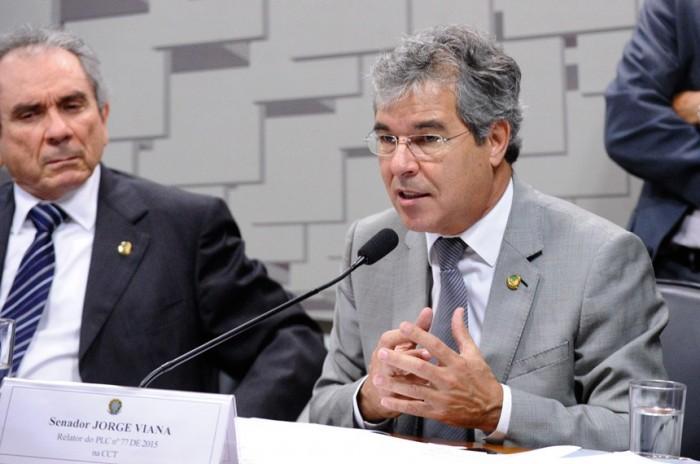 Relator na CCT, Jorge Viana fez alterações de redação e ponderou que é urgente superar os gargalos em ciência e tecnologia