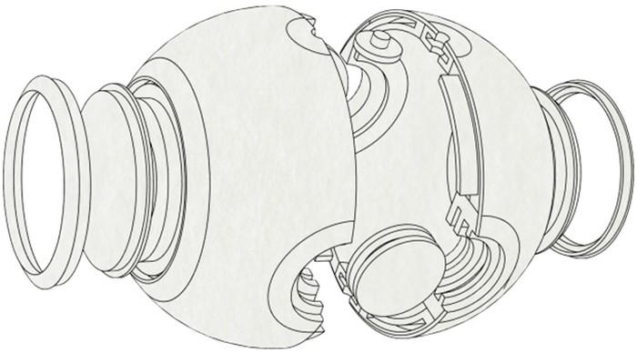 Luna - câmera 360 graus / design