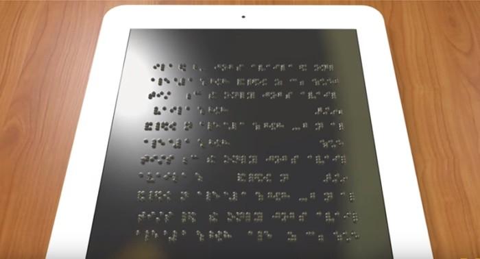 Tela para sistema Braille