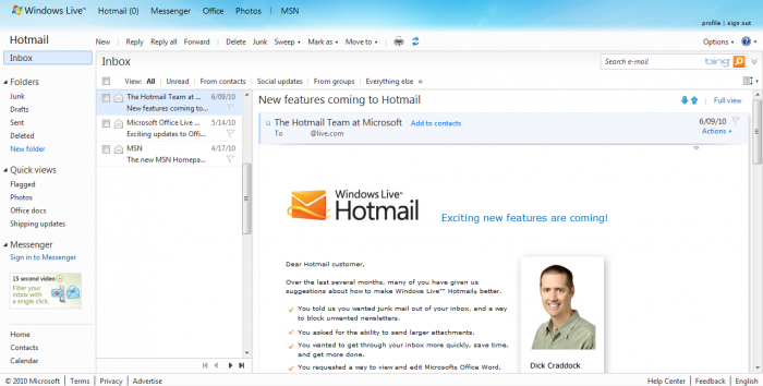 hotmail-live