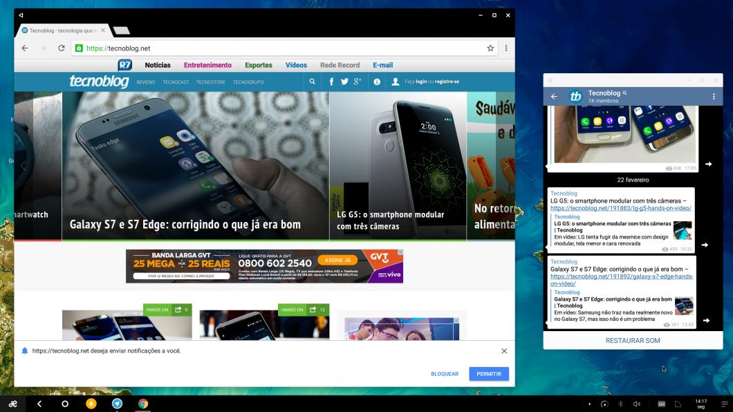 Remix OS: funciona! Assine nosso canal no Telegram: https://telegram.me/Tecnoblog.